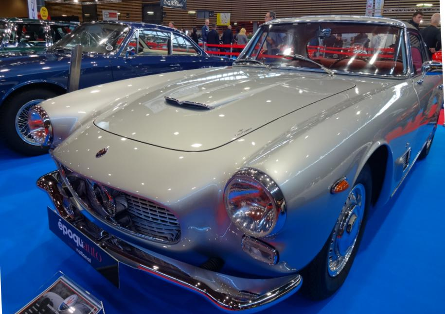 19 Salon EpoquAuto Halle 4 Expo Maserati 2
