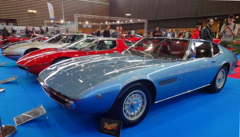 19 Salon EpoquAuto Halle 4 Expo Maserati 4