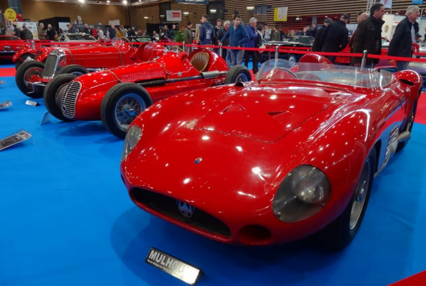 19 Salon EpoquAuto Halle 4 Expo Maserati