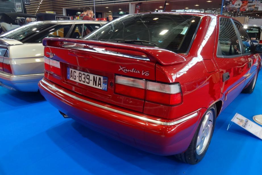 19 Salon EpoquAuto Halle 5 Expo Citroen Xantia V6