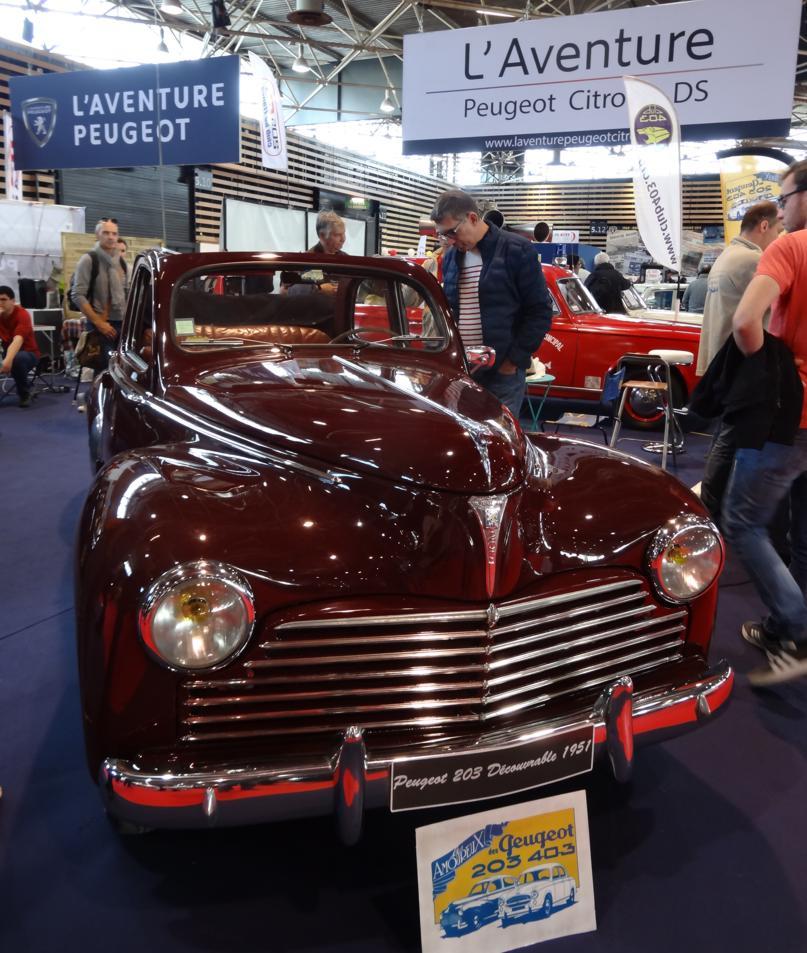 19 Salon EpoquAuto Halle 5 Peugeot 203
