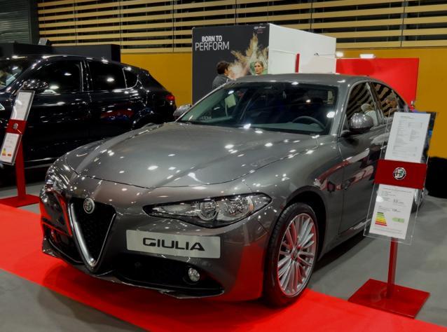 19 Salon Auto Lyon Alfa romeo Giulia