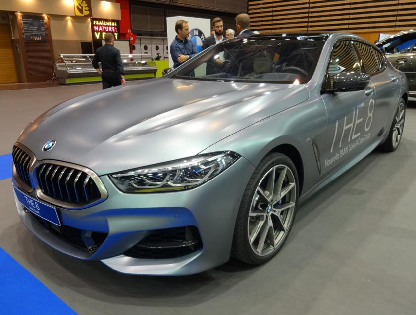 19 Salon Auto Lyon BMW 8 THE Coupe AV