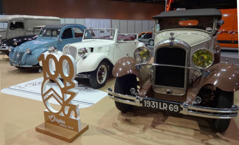 19 Salon Auto Lyon Citroen 100 ans