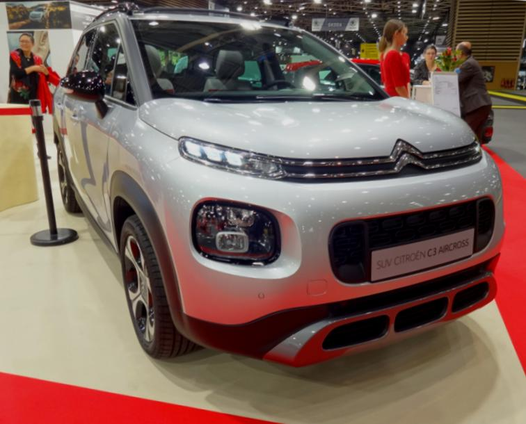 19 Salon Auto Lyon Citroen C3 Aircross