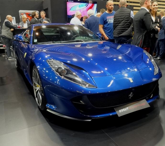 19 Salon Auto Lyon Ferrari 812