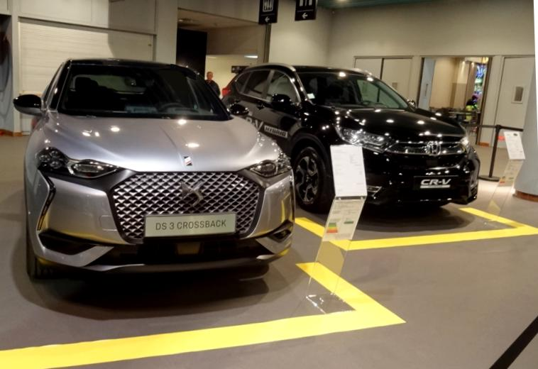 19 Salon Auto Lyon Hall Entree DS3 Crossback