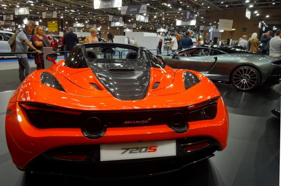 19 Salon Auto Lyon MCLaren Monaco 720 S