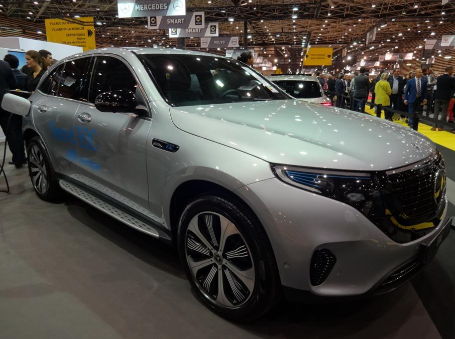 19 Salon Auto Lyon Mercedes Electrique 1