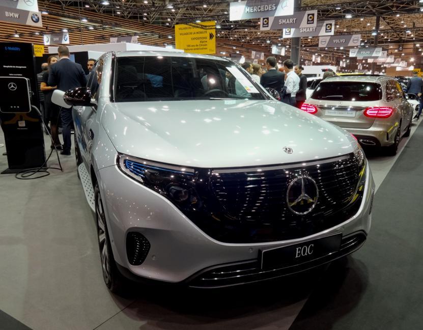 19 Salon Auto Lyon Mercedes Electrique