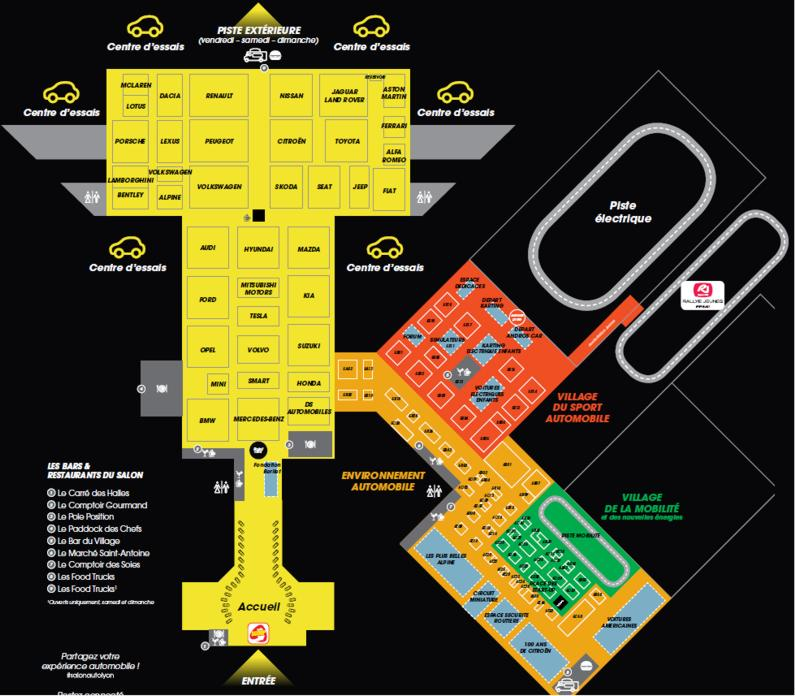 19 Salon Auto Lyon Plan