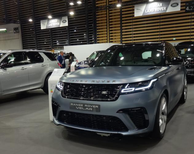 19 Salon Auto Lyon Range Rover Velar