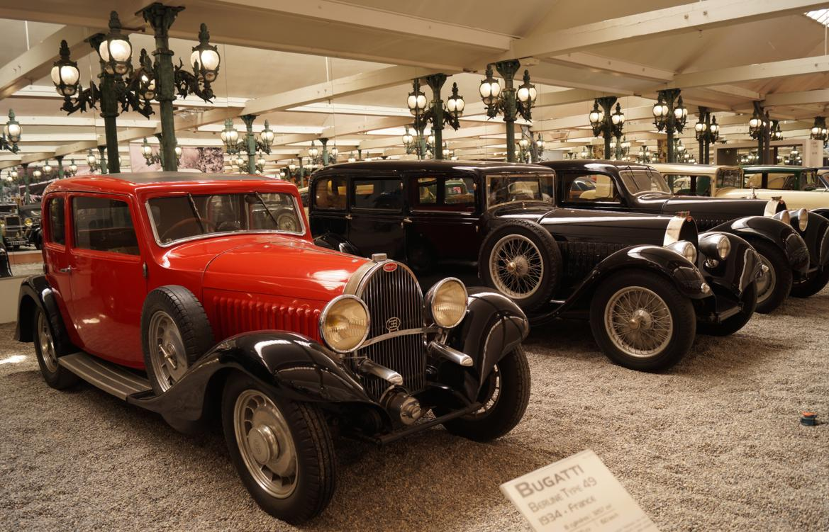 15 Cite Automobile CollectionSchlumpf Bugatti 8