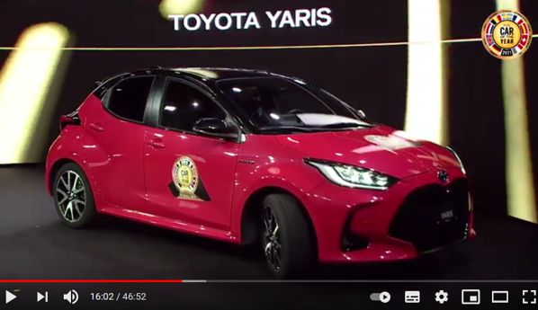 21 Salon Auto Geneve Page YouTube Concours Voiture Annee Toyota Yaris